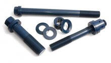 (Riser Bolt, Spherical Washer, Flat Washer, D.E. Stud turre